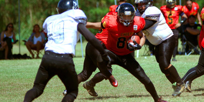 CHIEFS ADVANCE IN BFL OVER BLACK RAIDERS