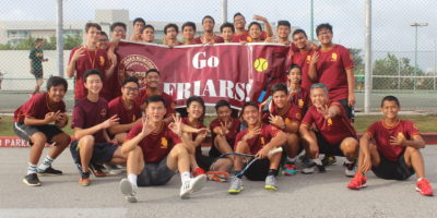 FRIARS SERVE UP THIRD STRAIGHT IIAAG TENNIS TITLE