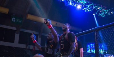 CHAMP JONES GEARING FOR FIRST TITLE DEFENSE