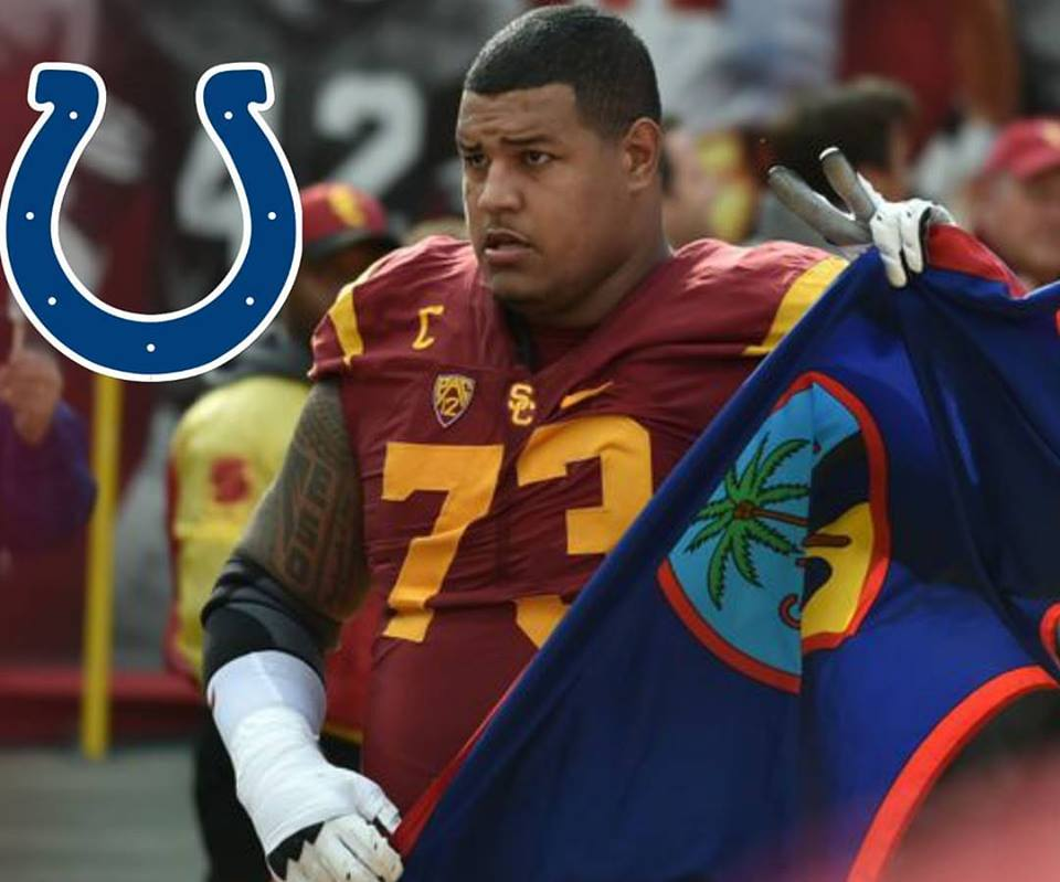 new styles ce896 9f72e COLTS DRAFT ZACH BANNER IN 4TH ROUND - GSPN - Guam Sports ...