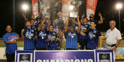 GUAM SHIPYARD WINS 10TH ANNUAL GFA CUP TITLE