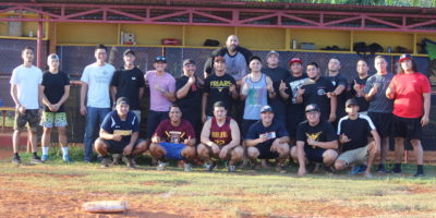 MASTER BATTERS SWEEP FD ALUMNI SOFTBALL TITLE