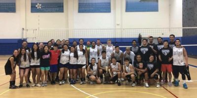 LEFTOVERS WIN 3rd ANNUAL HARVEST ALUMNI VOLLEYBALL TOURNEY
