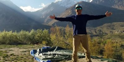QUAN'S SPIRITUAL TREK UP THE HIMALAYAS