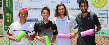 FARREN, SARAIVA WINS 2017 DOUBLES CROWN