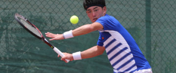 SINGLES QUARTERFINALS SET IN 2017 KING'S GUAM FUTURES TENNIS