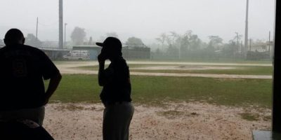 RAIN KEEPS GUAM OUT OF WORLD SERIES