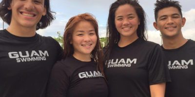 GUAM SWIMMERS COMPETE IN FINA WORLD CHAMPIONSHIPS