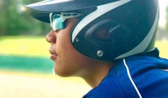 TYLER AGUON SHOWS PROMISE WITH TRAVEL BASEBALL TEAM