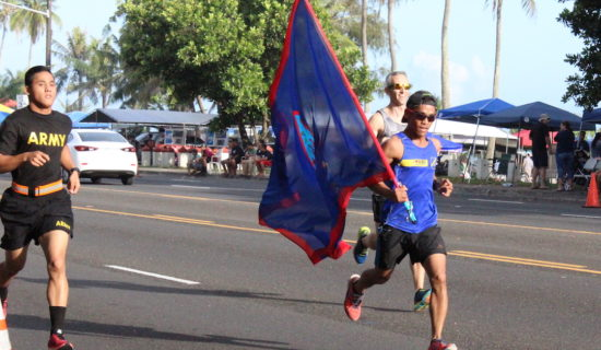ILUSTRE, CRISS TOP 33RD LIBERATION MILE