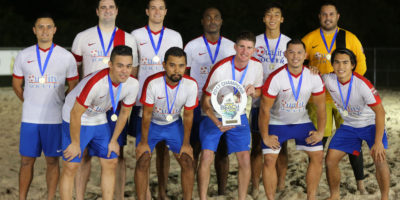 QUALITY STAYS PERFECT TO CLAIM 2017 BEACH SOCCER TITLE