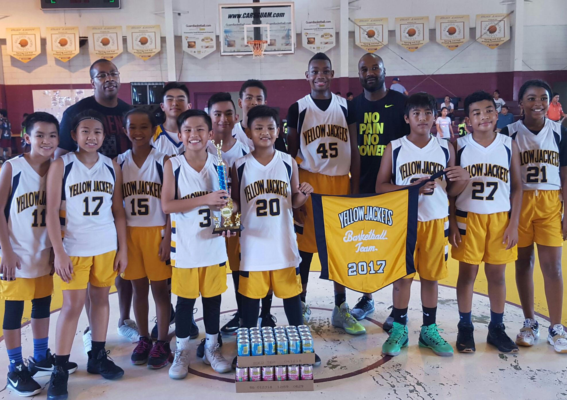 12U champs-yellowjackets