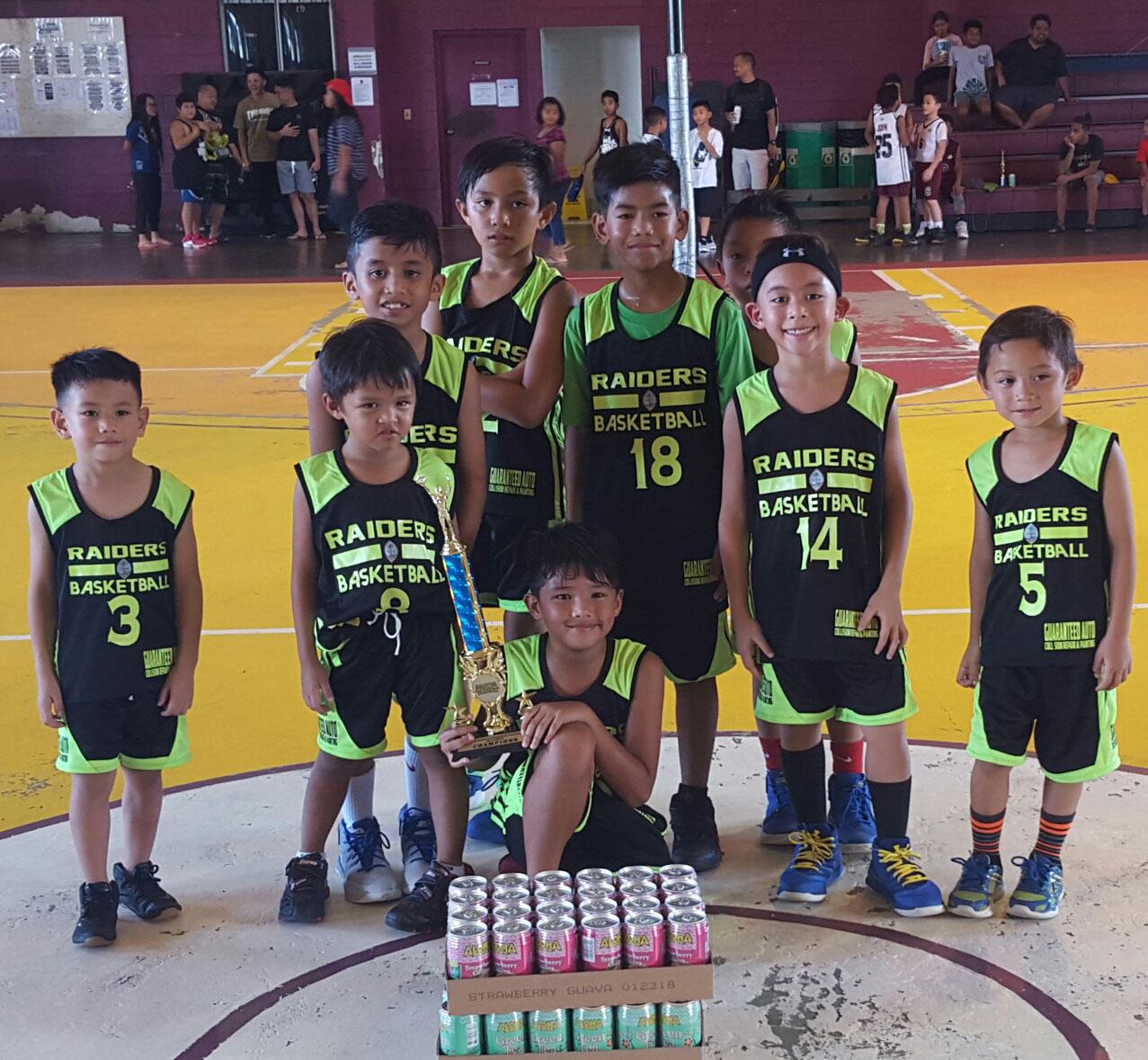 8U champs-raiders