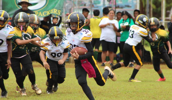 WHITE JR. SHINES IN METGOT STEELERS WIN OVER PACKERS