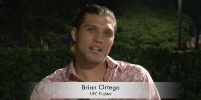 VIDEO: UFC'S BRIAN ORTEGA EXPERIENCES GUAM