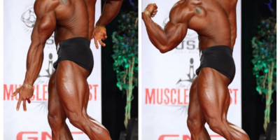 MONK TAKES VEGAS PHYSIQUE COMPETITION
