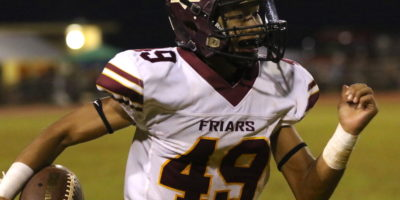 FRIARS GRAB BIGGEST MARGINAL VICTORY OF SEASON