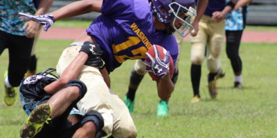 GECKOS GO AIRBORNE IN WIN OVER DOLPHINS