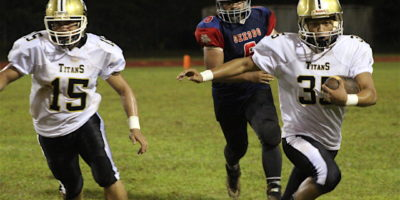 TITANS HIT STRIDE, EARN SECOND STRAIGHT WIN