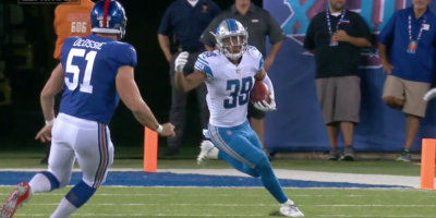 AGNEW RETURNS PUNT FOR TD IN MONDAY NIGHT FOOTBALL