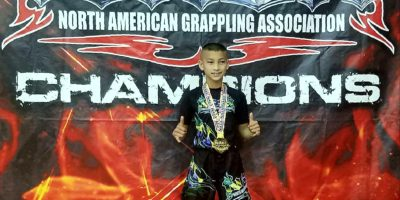 BRYSON TAITANO EARNS TRIPLE GOLD IN NAGA CHAMPIONSHIP