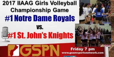 LIVE AUDIO: 2017 GIRLS VOLLEYBALL CHAMPIONSHIP