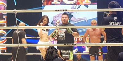 MARTINEZ EARNS BIG SUBMISSION WIN IN RIZIN FWGP