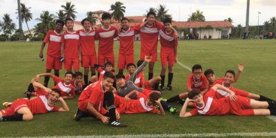 KNIGHTS GO UNBEATEN FOR MS SOCCER TITLE