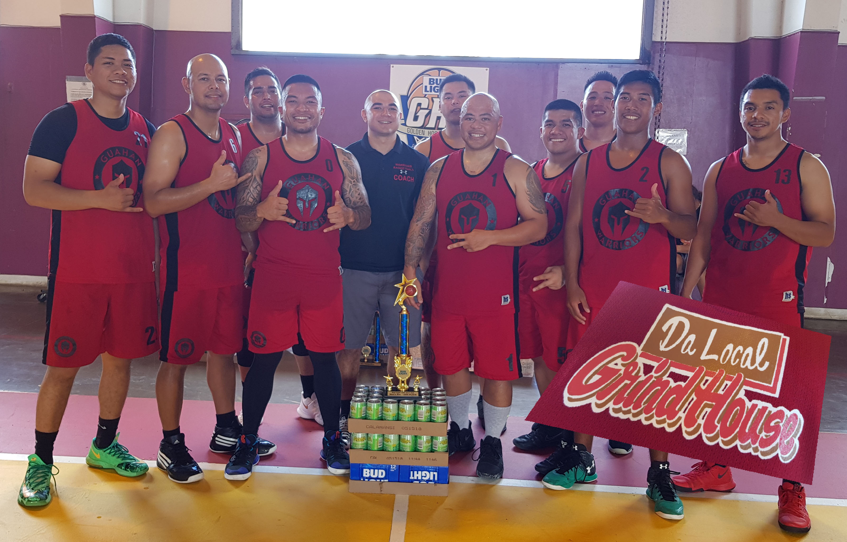 mens rec 2nd-Guahan warriors