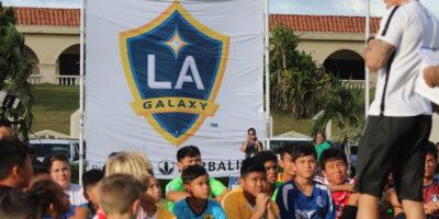 LA GALAXY KICKS OFF THREE-DAY CAMP AT ADELUP