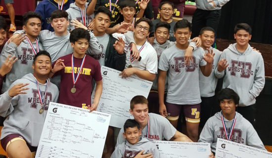 FRIARS SECURE WRESTLING TITLE THREE-PEAT
