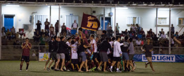 FRIARS WIN SOCCER TITLE IN OLD-FASHIONED SHOOT OUT