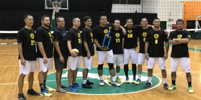 HAGGAN WINS TRITON MEN'S VOLLEYBALL LEAGUE
