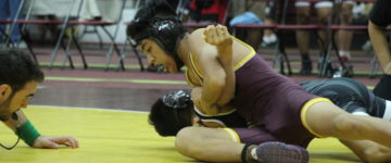 FRIARS OUTNUMBER SHARKS IN SHOWDOWN OF WRESTLING POWER HOUSES