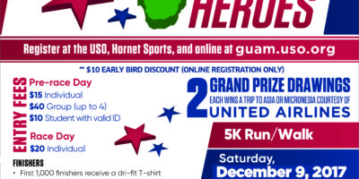 USO'S ROCK 'N RUN FOR OUR HEROES 5K THIS SATURDAY