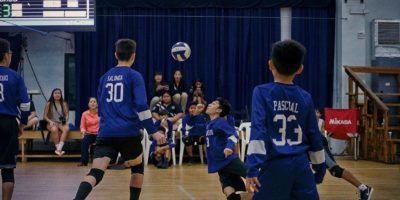 WARRIORS PULL OFF VOLLEYBALL OVER KNIGHTS