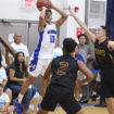 WARRIORS DEFEND HOME IN CLASH WITH FRIARS