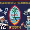 GUAM ATHLETES MAKE SUPER BOWL LII PREDICTIONS