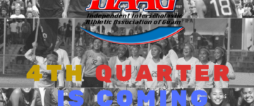 GETTING READY FOR IIAAG 4TH QUARTER SPORTS