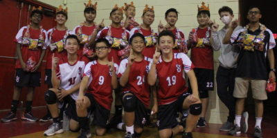 KNIGHTS WIN MS BOYS VOLLEYBALL TITLE