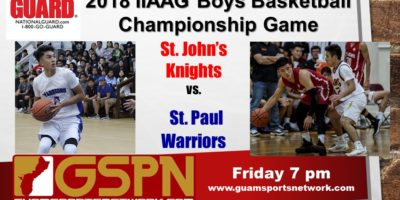 GSPN TO BROADCAST BOYS BASKETBALL TITLE GAME LIVE!