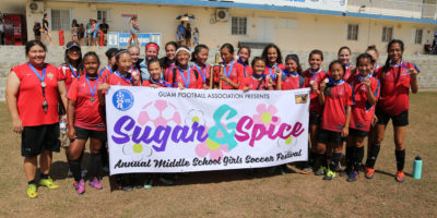 KNIGHTS DEFEND SUGAR & SPICE MIDDLE SCHOOL TITLE