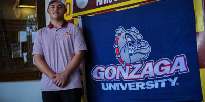 SALAS CHOOSES TO SIGN WITH GONZAGA