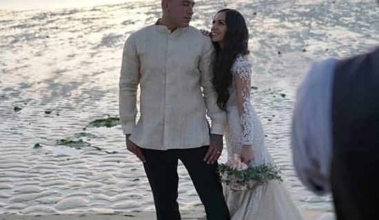 VERA LOCKS VOWS WITH NEW WIFE ALONG ALUPANG BEACH