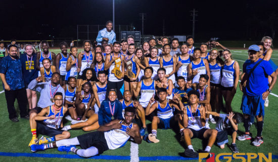 PANTHERS CLAIM BOYS AND GIRLS TRACK AND FIELD TITLES