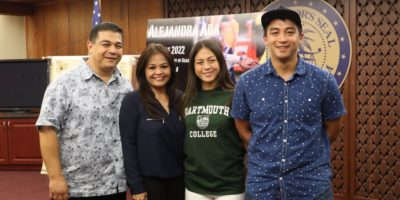ALEJANDRA ADA'S RUGBY JOURNEY LEADS TO DARTMOUTH