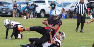 LEGACY DEFENSE SCORES THRICE IN WIN OVER RAIDERS
