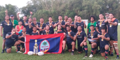 GUAM ARE ASIA RUGBY DIVISION 3 EAST CHAMPIONS
