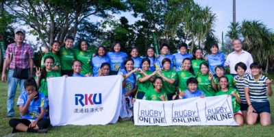 SUNRISE WOMEN'S RUGBY DISPLAYS FRIENDLY WITH JAPAN