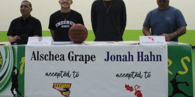 GRAPE, HAHN SIGN LETTERS OF INTENT